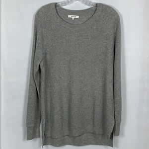 Madewell Waffle Knit Merino Wool Blend Pullover M
